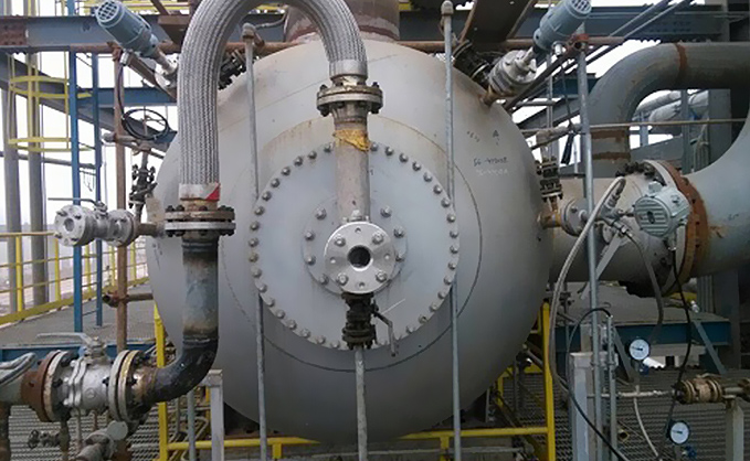 石油化工钢制管法兰案例