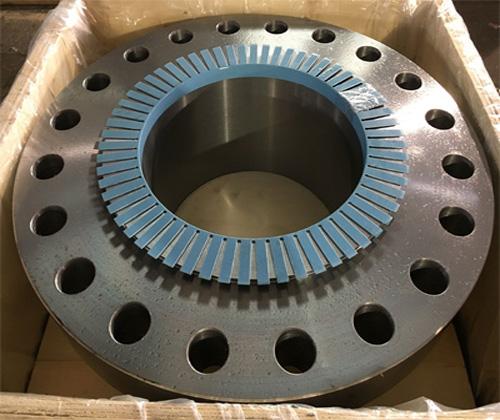 ASME B16.5合金钢F11带颈对焊法兰