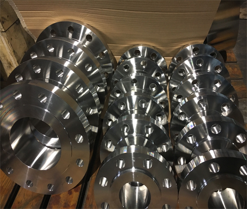 美标A182F53双相钢带颈对焊法兰