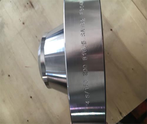 304不锈钢900LB带颈对焊法兰