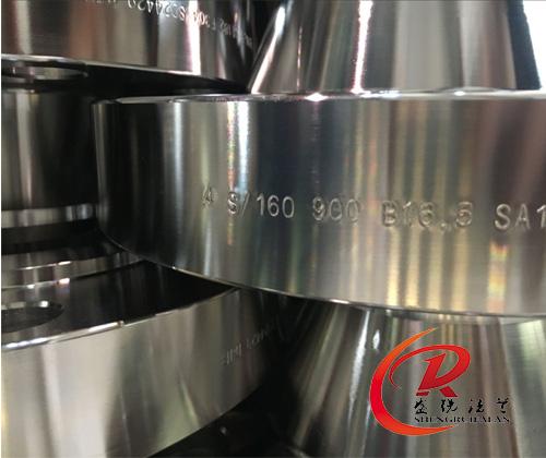 4寸900LB不锈钢带颈对焊法兰