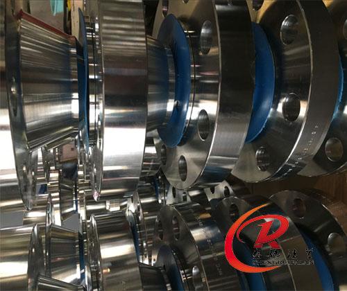 F44 SCH80不锈钢带颈对焊法兰