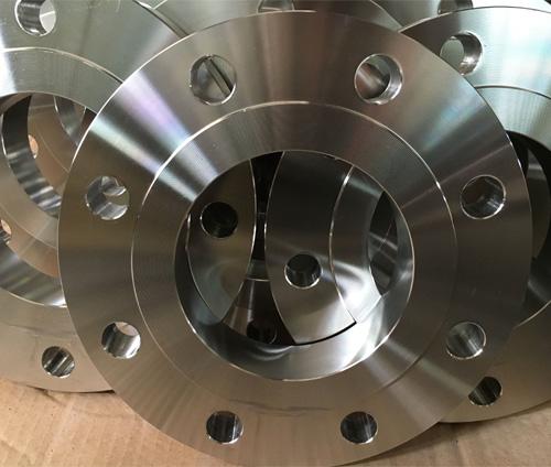 美标A182F53双相不锈钢带颈平焊法兰