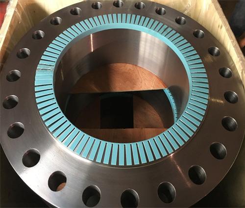 美标ASTM182F91带颈对焊法兰