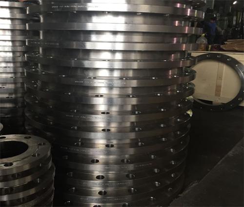 国标PN10不锈钢31603带颈平焊法兰DN500